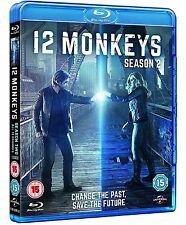 12 Monkeys - Season 2 [Blu-ray] [Season Two] [3 Discs] [Region Free] ✔NEW✔