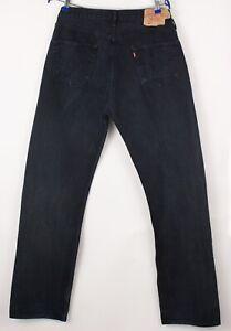 Levi's Strauss & Co Herren 501 Gerades Bein Jeans Größe W36 L36 BBZ541