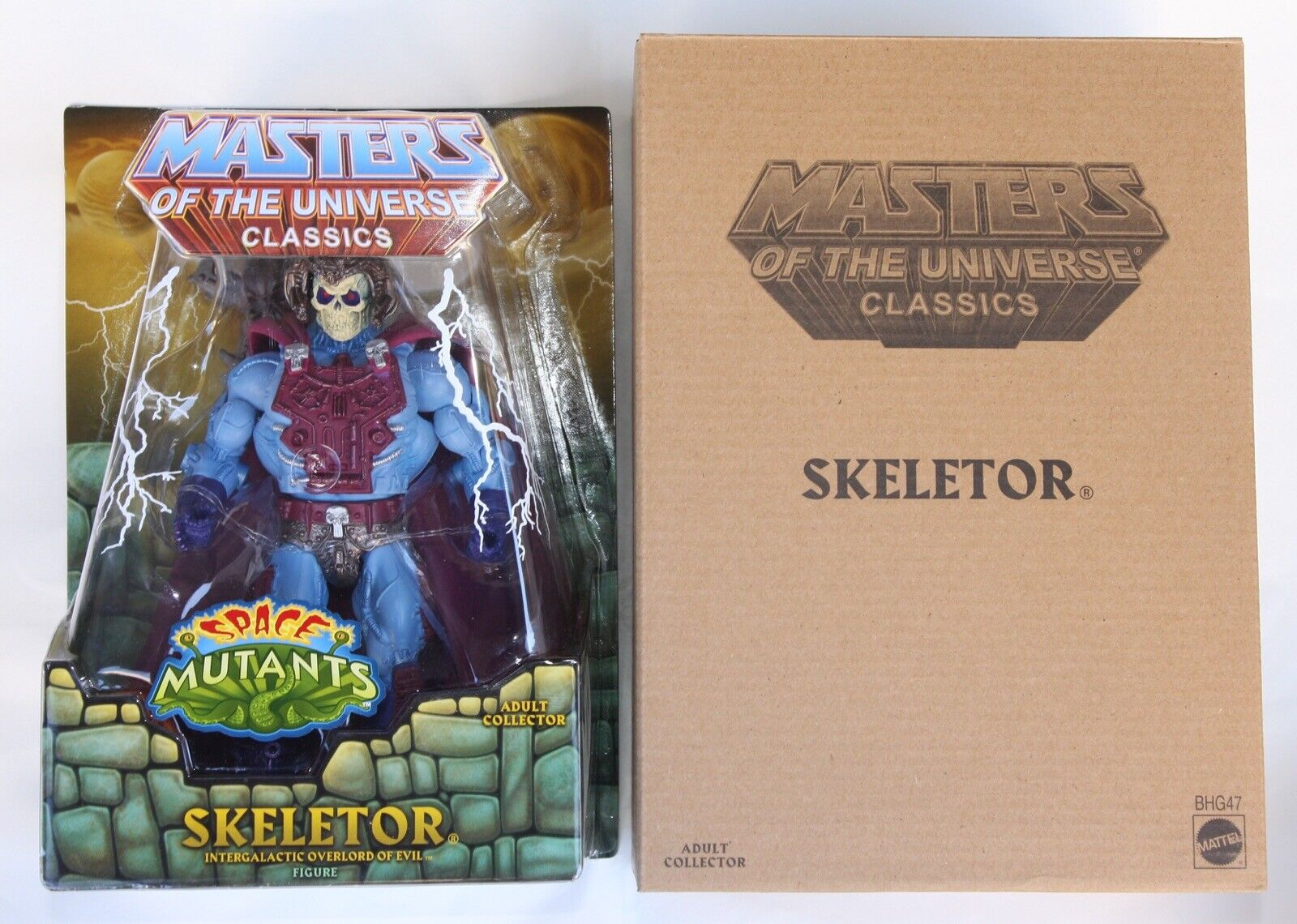 SKELETOR Intergalactic New Adventures MOC Mattel Masters of the Universe Classic