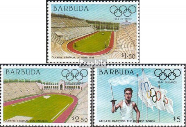 Barbuda 739-741 unmounted mint / never hinged 1984 Olympics Summer ´84