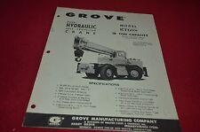 Grove RT60 Crane Dealer's Brochure DCPA6 ver2