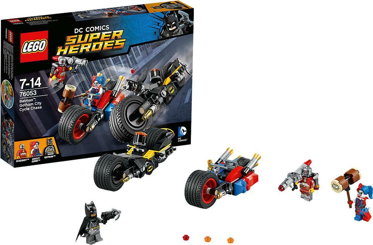 Lego DC Comics Super Heroes 76053 Gotham City City City Cycle Chase FREE UK P&P 5b79a2