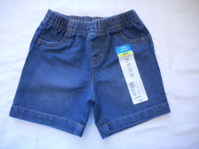 Okie dokie Boy' Sz 3T Blue w Side Stripes Pull-On Athletic Shorts FREE Shpg NWTA