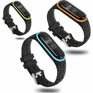 Watch-Waschbar-Sport-Armband-Silikon-Gurtband-Ersatz-For-Xiaomi-Mi-Band3-4