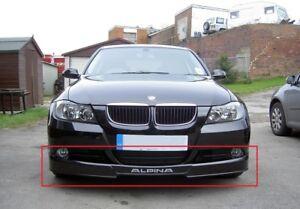 BMW 3 SERIES E90 E91 ALPINA LOOK FRONT BUMPER VALANCE - SPOILER NEW