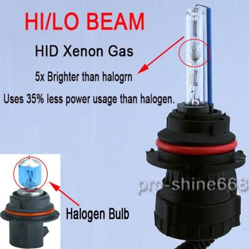 Hi-Lo Bi-Xenon 55w HID Conversion Kit H4 H7 H11 H13 9003 9005 9006 6K 5K PL