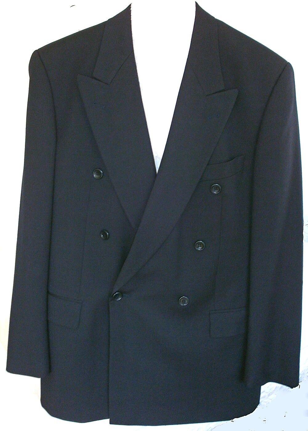 Blazer BOSS Zweireiher_ Schurwolle Schurwolle Schurwolle dunkelblau, leicht+etwas glänzend Größe 102   Günstige Preise  9a342e