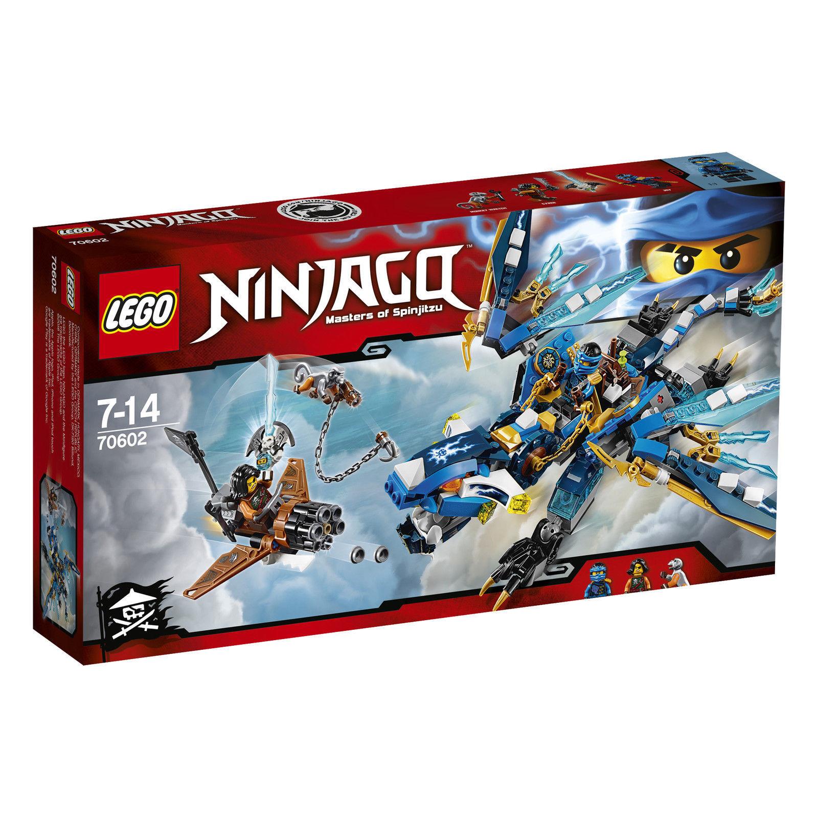 LEGO ® Ninjago ™ 70602 Jays elementardracheneu OVP _ Jay 's ELEUomoTAL DRAGON NEW MISB