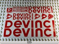 DEVINCI Stickers Decals Bicycles Bikes Cycles Frames Forks Mountain MTB BMX 57IE