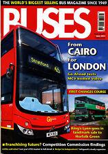 BUSES 675 JUN 2011 London,MCV B9TL,New Vehicles 2010,Safeguard,M&D 100,Coach Rly
