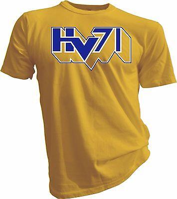 Clothing, Shoes & Accessories Hv71 Shl Jönköping Sweden Professional Hockey Yellow T-shirt Swedish Tee Men Sports Mem, Cards & Fan Shop