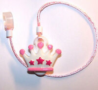 Childs 1 Sided Hearing Aid Safety Against Loss Leash Retainer Clip ....crown