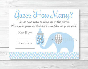 image regarding Printable Elephant Baby Shower identified as Data concerning Blue Chevron Elephant Little one Shower \