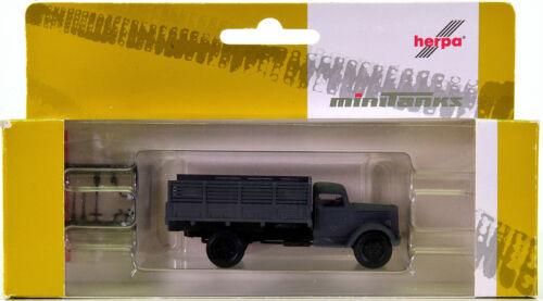 Herpa 744744-Opel Blitz Hochpritschen-camions Dr époque II
