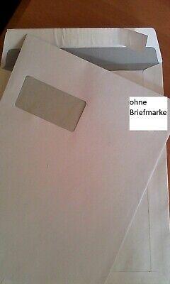 50 Briefumschläge Din A4 C4 Weiß Mit Fenster Versandtaschen Kuvert KöStlich Im Geschmack