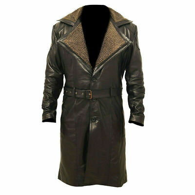 Ww2 German Trench Coat Brown Fur, German Army Ww2 Trench Coat