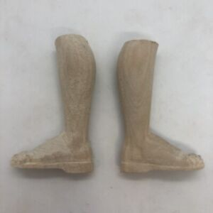 Piedi-legno-for-figure-donna-wood-Feet-restauto-pastori-crib-suola-5-cm