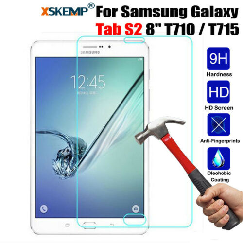 Tempered Glass Screen Protector Cover For iPad Samsung Amazon Microsoft Tablets