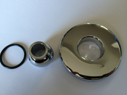 Whirlpool Bath Jet Cover In Chrome jacuzzi
