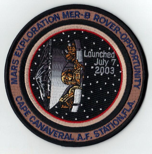 MARS EXPLORATION MER-B ROVER OPPORTUNITY DELTA  NASA JPL EXPLORATION SPACE PATCH