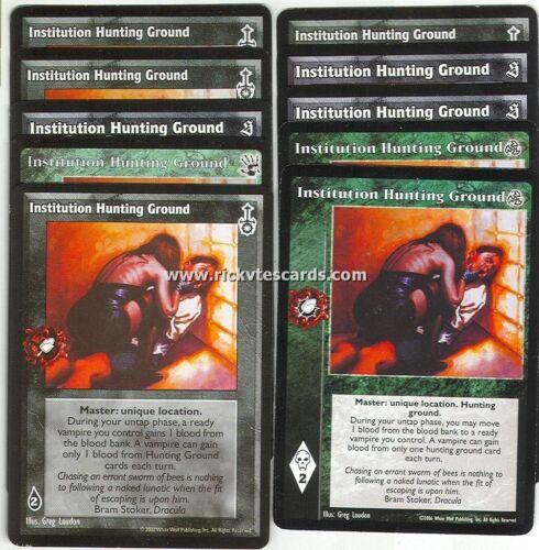 Institution Hunting Ground x10 BH SE SW 3rd Ed VTES Jyhad