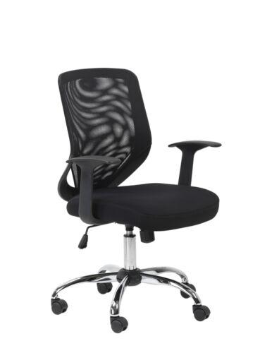 Atlanta Black Operator Office Chair Mesh Back