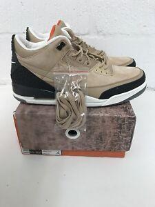 online store 3a412 f4f3e Details about Air Jordan Nike AJ 3 NRG JTH Justin Timberlake Beige UK 14 US  15 AV6683-200