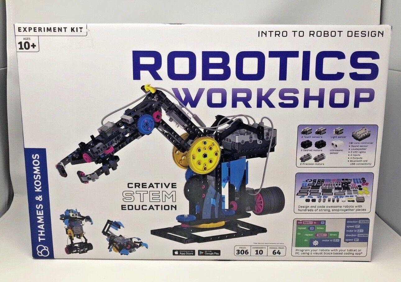 Robotics arbetarhop Creative Stem Education