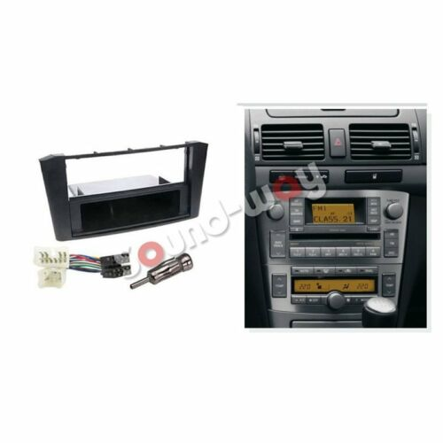 Kit montaggio autoradio stereo  mascherina 1 DIN Toyota Avensis T25 2003-2007