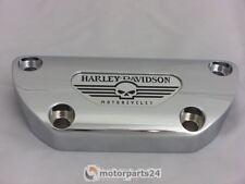 Harley Davidson Skull Lenkerklemme Lenker Klemme 56060-01