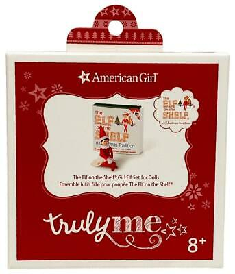 """American Girl The Elf on the Shelf Girl Set for 18"""" Dolls Truly Me Christmas New"""