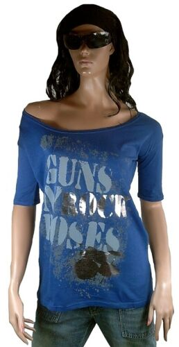 S Elegantly T N'roses By Tunika Vip Waisted shirt Official Hot Amplified Guns PxOOwFT