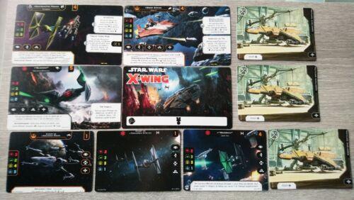 X-Wing 2.0 Deluxe Wave 2  KIT français french Promo Star Wars alternate V2