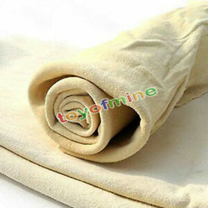 New-Natural-Shammy-Chamois-Leather-Car-Cleaning-Towels-Drying-Washing-Cloth