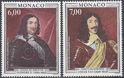 Nr.1788 Neu Mit Originale Gummi Frankreich Monaco Nr.1787 Kurswert Gute QualitäT