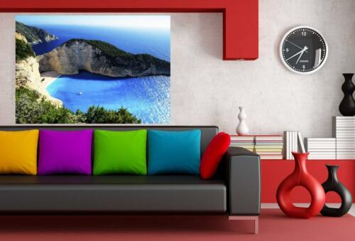 Griechenland Inseln Leinwandbild AK Art Bilder Wanddeko Wandbild Kunstdruck XXL