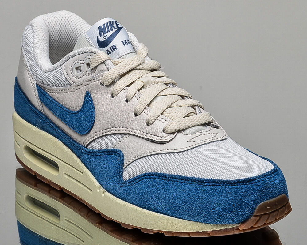 Nike WMNS Air Max 1 Essential women lifestyle casual sneakers NEW bone blue