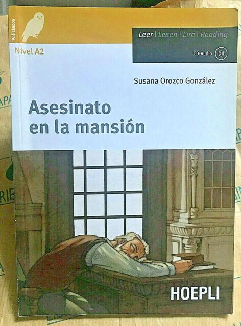 ASESINATO EN LA MANSION con Cd NIVEL A2 - SUSANA OROZCO GONZALES - HOEPLI SCUOLA