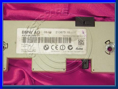 BMW 1 3 M3 series E82 E90 E92 DIVERSITY ANTENNA FM RADIO AMPLIFIER 9187658