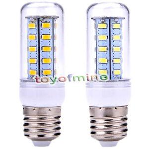 110 120v 12w e27 led mais licht 36 5730 smd lampen warmes kaltes wei abdeckung ebay. Black Bedroom Furniture Sets. Home Design Ideas