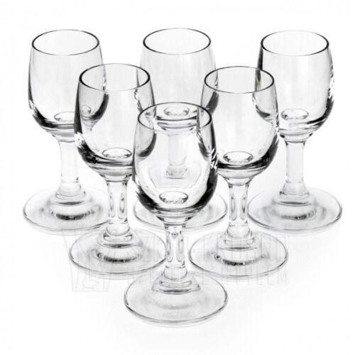 6 TOP Wodkagläser 35 ML Wodka Glas Wodkaglas Schnapsgläser Schnapsglas Shots