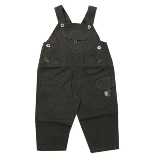 68 Pantalon Long Pantalon Latzhose olive vert coton garçon bébé taille 62