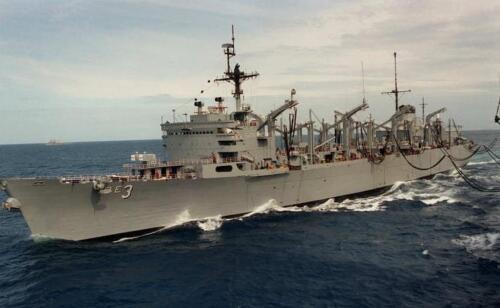 USS SEATTLE AOE-3 HAT PIN UP US NAVY VIETNAM COMBAT SUPPORT SHIP Replenishment