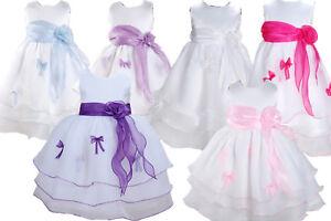 90a27e2922eff bébé baptême robe demoiselle d honneur Robe soirée 3 6 9 12 18 24 ...