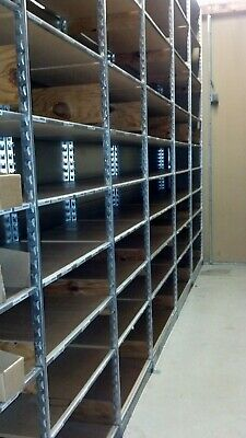 Lozier S Series Backroom Shelving Complete Sections Single Back to Back