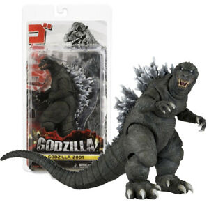 Godzilla-2001-Movie-Classic-Series-Black-7-034-Action-Figures-Statue-Model-Toy-Gift