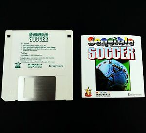 Sensible-Soccer-IBM-PC-Game-with-Manual-3-5-inch-Floppy-Disk-1994