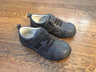 Boys Brown School Shoes Kids 12.5 See