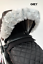 pram-hood-fur-trim-pink-grey-white-universal-hood-babies-pram-for-pram thumbnail 24