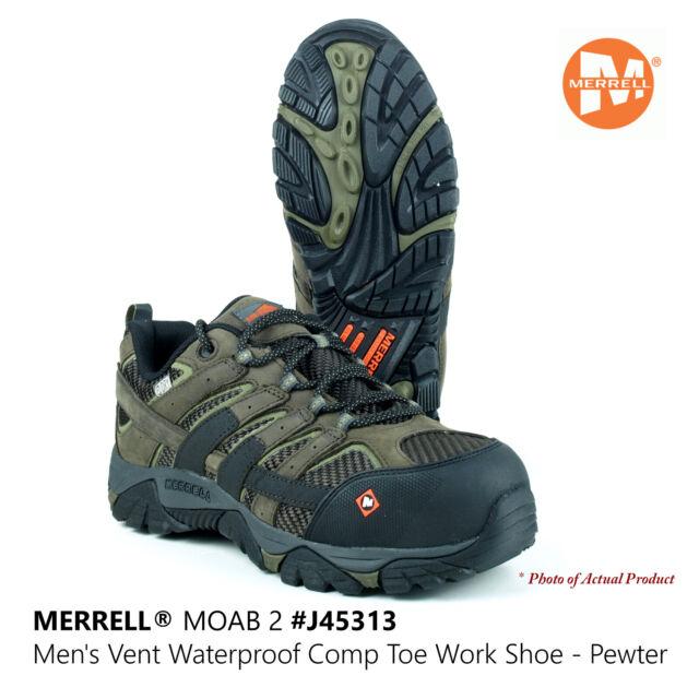 Merrell Work Moab 2 Vent Mid Waterproof